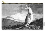 Cook: Kangaroo, 1773 Carry-all Pouch