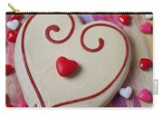 Cookie And Candy Hearts Carry-all Pouch