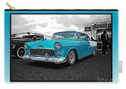 Cool Blue Chevy Carry-all Pouch