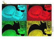 Cool Cat Pop Art Carry-all Pouch