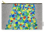 Cool Crazy Pear Abstract Painting Carry-all Pouch