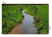 Cool Mountain Stream Carry-all Pouch by Frozen in Time Fine Art Photography