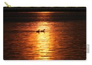 Coots In The Sunset Carry-all Pouch