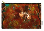 Copper Flower Carry-all Pouch