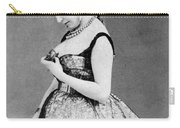 Cora Pearl (c1835-1886) Carry-all Pouch