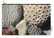Coral Cobbles On Beach Of Bonaire Carry-all Pouch