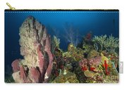 Coral Reef And Sponges, Belize Carry-all Pouch