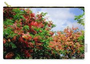 Coral Shower Trees Carry-all Pouch