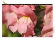 Coral Snapdragons Carry-all Pouch