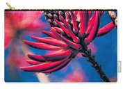 Coral Tree Flower Carry-all Pouch