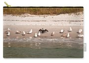 Cormorant Stands Out Carry-all Pouch