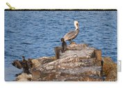 Cormorants And Pelican Carry-all Pouch