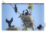Cormorants Nesting Carry-all Pouch