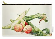 Corn And Peaches Carry-all Pouch