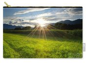 Corn Field In Backlight Carry-all Pouch