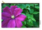 Corner Clematis Carry-all Pouch