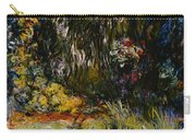 Corner Of A Pond With Waterlilies Carry-all Pouch by Claude Monet