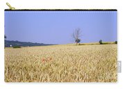 Cornfield With Poppies Carry-all Pouch