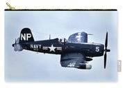 Corsair In Flight Carry-all Pouch by Greg Fortier