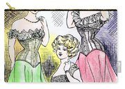 Corset Ladies Carry-all Pouch