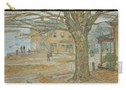 Cos Cob In November Carry-all Pouch by Childe Hassam