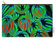 Cosmic Watermelon Leaves Carry-all Pouch