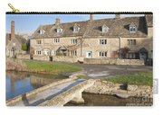 Cotswold Village Of Lower Slaughter Carry-all Pouch