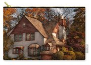 Cottage - Westfield Nj - Family Cottage Carry-all Pouch by Mike Savad