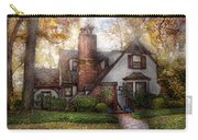 Cottage - Westfield Nj - Grandma Ridinghoods House Carry-all Pouch by Mike Savad