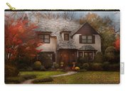 Cottage - Westfield Nj - The Country Life Carry-all Pouch by Mike Savad