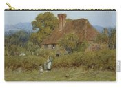 Cottage At Broadham Green Surrey In Sunset Light Carry-all Pouch