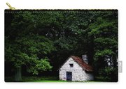 Cottage In The Woods Carry-all Pouch by Fabrizio Troiani