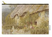 Cottage Near Wells Somerset Carry-all Pouch by Helen Allingham