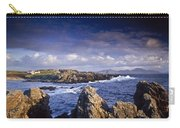 Cottage On Seashore, Ineuran Bay Carry-all Pouch