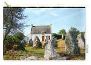 Cottage With Standing Stones Carry-all Pouch