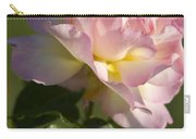 Cotton Candy Pink Peace Rose Carry-all Pouch