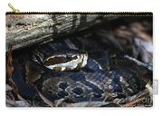 Cotton Mouth Hiding In Gum Swamp Carry-all Pouch
