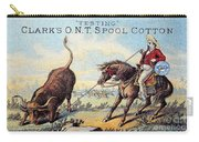 Cotton Thread Trade Card Carry-all Pouch