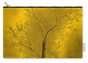 Cottonwood Tree April 2012 In Gold Carry-all Pouch