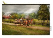 Country - Horse - Life's Pleasures Carry-all Pouch