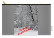 Country Christmas 1 Carry-all Pouch