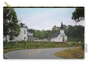 Country Church In Texture Carry-all Pouch