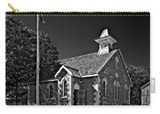 Country Church Monochrome Carry-all Pouch