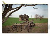 Country Home And Wagon Carry-all Pouch by Athena Mckinzie