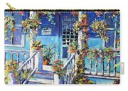 Country Porch And Flowers By Prankearts Carry-all Pouch