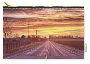 Country Road Sunrise Carry-all Pouch