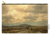 Country Road With Wildflowers Carry-all Pouch