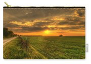 Country Roads Sunset Carry-all Pouch