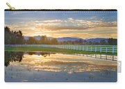 Country Sunset Reflection Carry-all Pouch