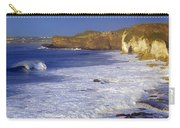 County Antrim, Ireland Seascape With Carry-all Pouch